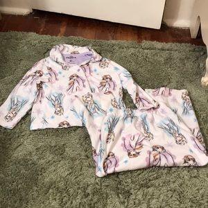 🌿4T Frozen 2 Flannel PJ Set